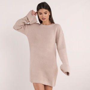 ALLISON ROSE SWEATER DRESS
